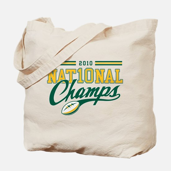 2010 Nat10nal Champs Tote Bag