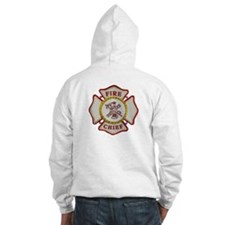 Fire Chief Maltese Hoodie