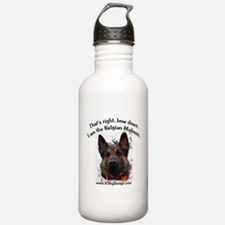 Bow Down Malinois Water Bottle