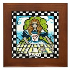 Alice in wonderland Framed tile