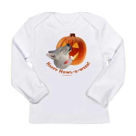 Happy Howl-o-ween! Long Sleeve Infant T-Shirt