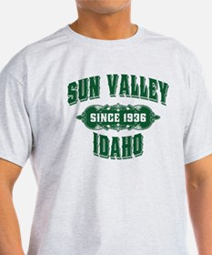 Sun Valley Old Style Green T-Shirt