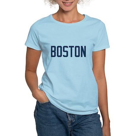 Boston (Blue) Women's Light T-Shirt