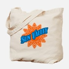 Sun Valley Orange Sun Tote Bag