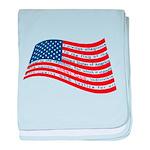 Pledge of Allegiance baby blanket
