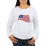 Pledge of Allegiance Women's Long Sleeve T-Shirt