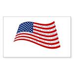 Pledge of Allegiance Sticker (Rectangle)
