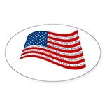 Pledge of Allegiance Sticker (Oval)