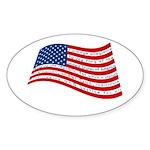 Pledge of Allegiance Sticker (Oval 50 pk)