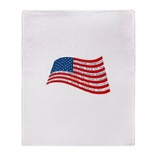 Pledge of Allegiance Throw Blanket
