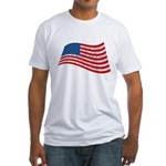 Pledge of Allegiance Fitted T-Shirt