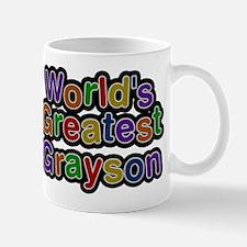 Worlds Greatest Grayson Mugs