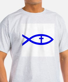 Cute Jesus fish symbol T-Shirt