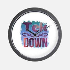 Underground Fight Promotions Wall Clock