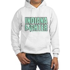 Indiana Ovarian Cancer Fighter Hoodie