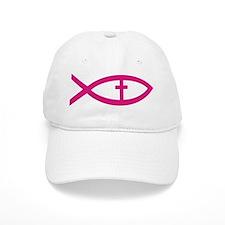 Cute Christian fish Baseball Cap