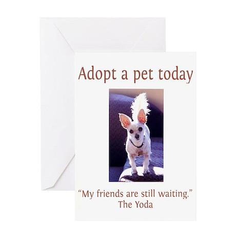 Adopt A Pet - Greeting Card