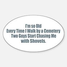 Cemetery Shovel Decal