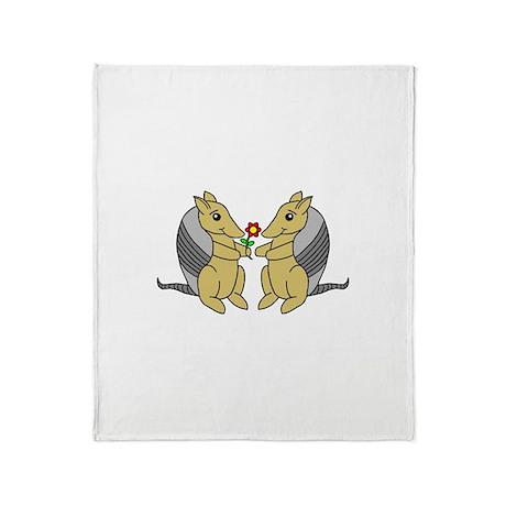 Armadillove Throw Blanket