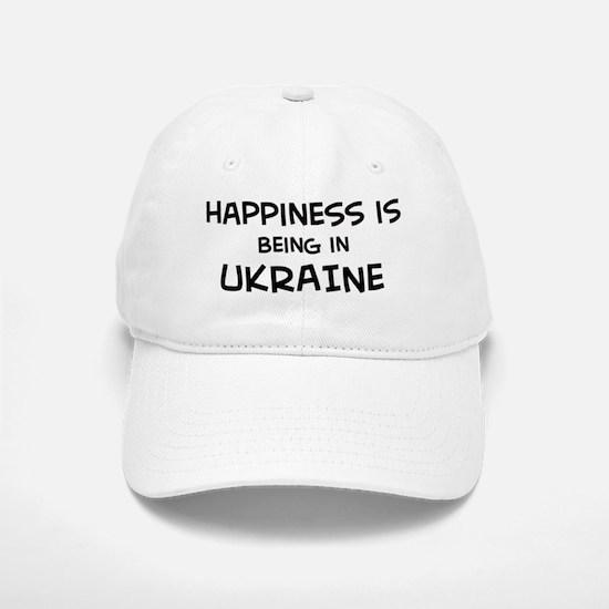 Happiness is Ukraine Baseball Baseball Cap