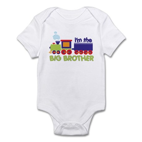 I'm the Big Brother Train Infant Bodysuit