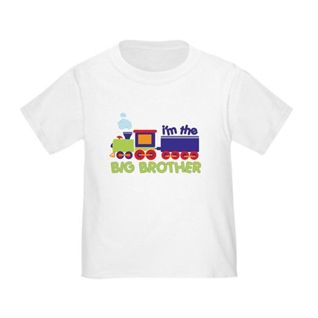 I'm the Big Brother Train Toddler T-Shirt