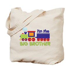 I'm the Big Brother Train Tote Bag