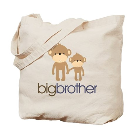 Big Brother Monkey Tote Bag
