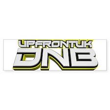 UPFRONTUK DNB Car Sticker
