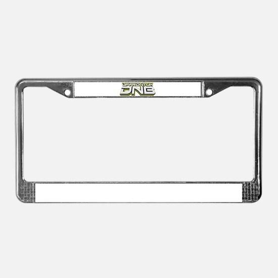 UPFRONTUK DNB License Plate Frame