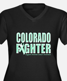 Colorado Ovarian Cancer Fighter Women's Plus Size