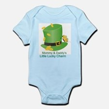 Mommy & Daddy's Lucky Charm Onesie