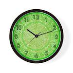 FRUIT & VEGGIE SERIES:  Lime Green W. Clock