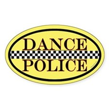 Dance Police Euro Decal