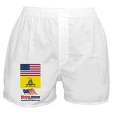 American-American Movement Boxer Shorts