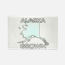 Alaska grown Rectangle Magnet