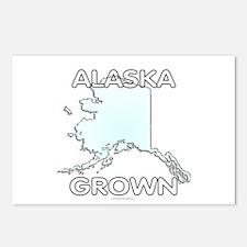 Alaska grown Postcards (Package of 8)