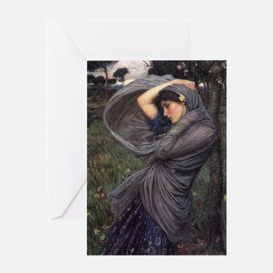 Boreas Greeting Card