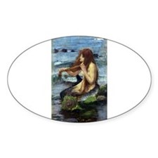 A Mermaid (study) Decal