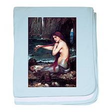 A Mermaid baby blanket