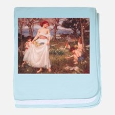 A Song of Springtime baby blanket