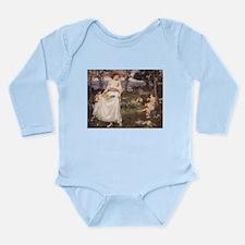 A Song of Springtime Long Sleeve Infant Bodysuit
