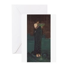 Circe Invidiosa Greeting Cards (Pk of 20)