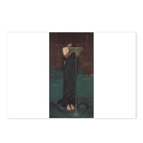 Circe Invidiosa Postcards (Package of 8)