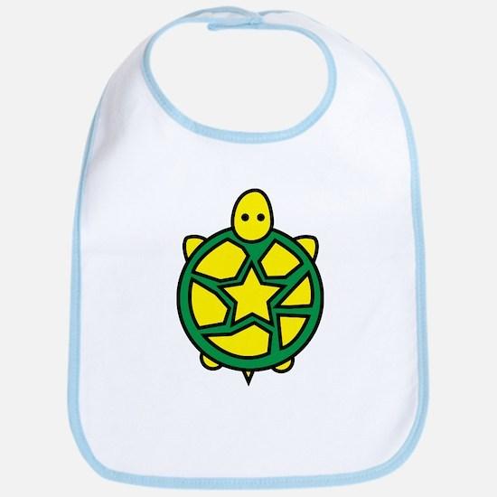 Star Turtle Bib