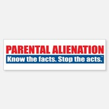 Parental Alienation Car Car Sticker