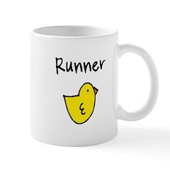 Runner Chick Mug