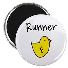 """Runner Chick 2.25"""" Magnet (10 pack)"""