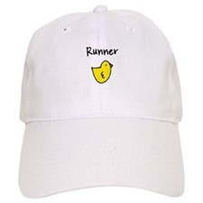 Runner Chick Baseball Cap