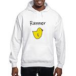 Runner Chick Hooded Sweatshirt